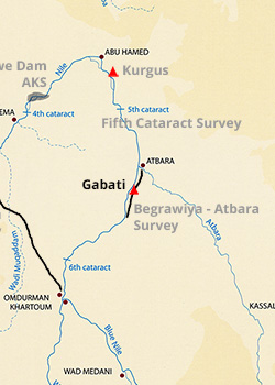 Map - Gabati Excavation Project