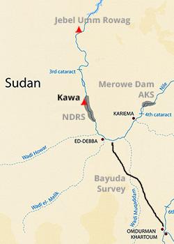 Map - Kawa